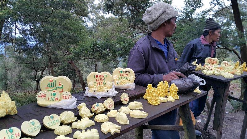 Sulphur souvenirs