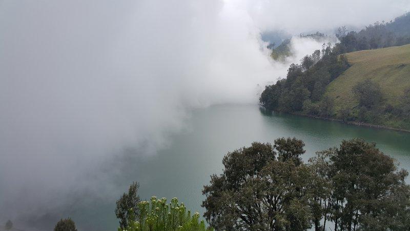 Fog over ranu kumbolo