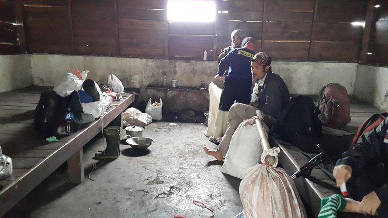Porters' hut