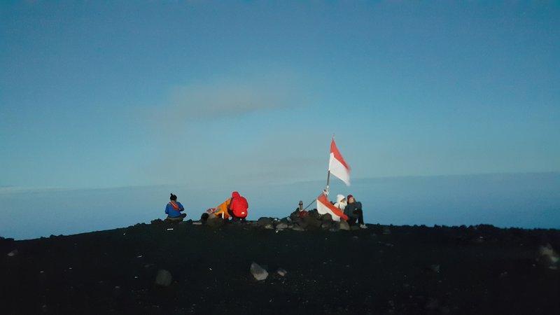 Semeru summit