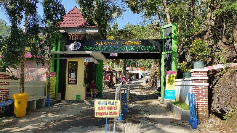 Entrance to Goa Gong