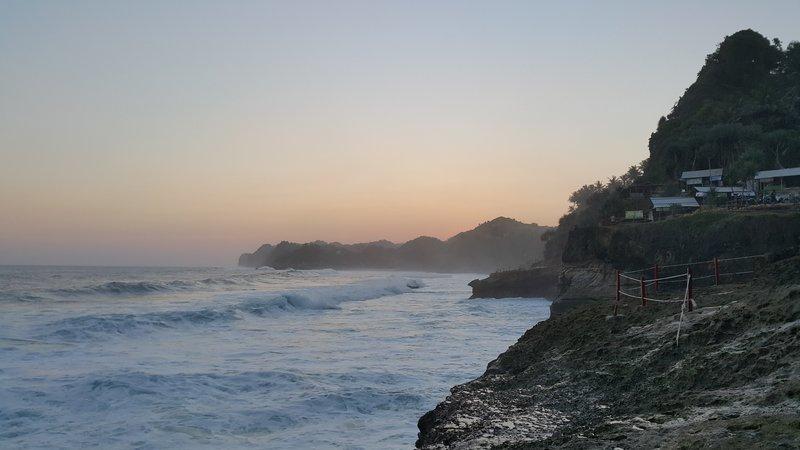 Banyu tibo beach