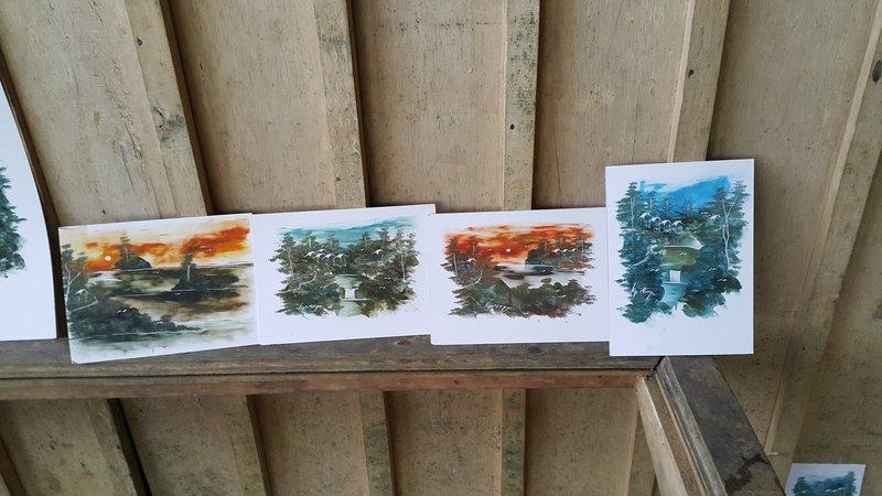 Kampong Naga paintings