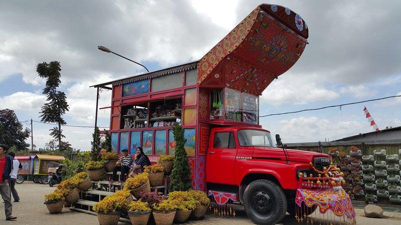 Toraja style shop