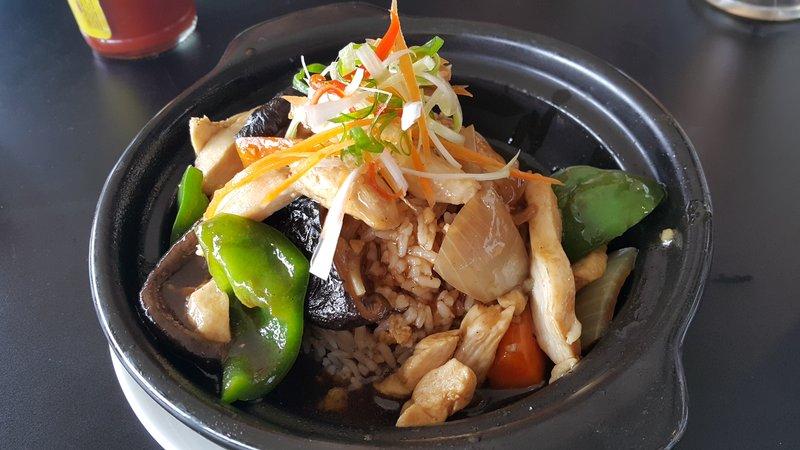 Chicken claypot rice
