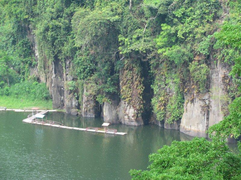 Cliffs of Segaran lake
