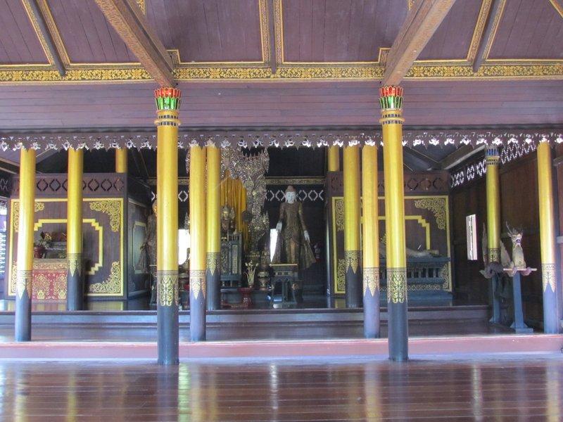 Inside Wat Chong Kham, Lampang