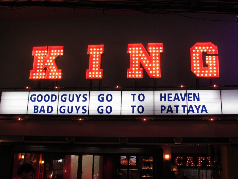 Pattaya slogan