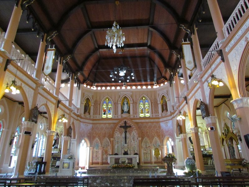 Inside Cathedral of the Immaculate Conception