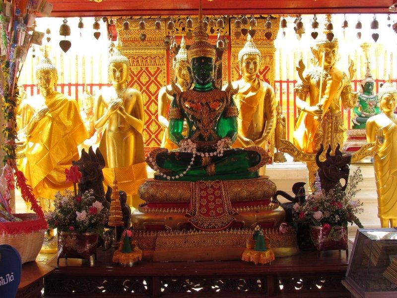 Green Buddha
