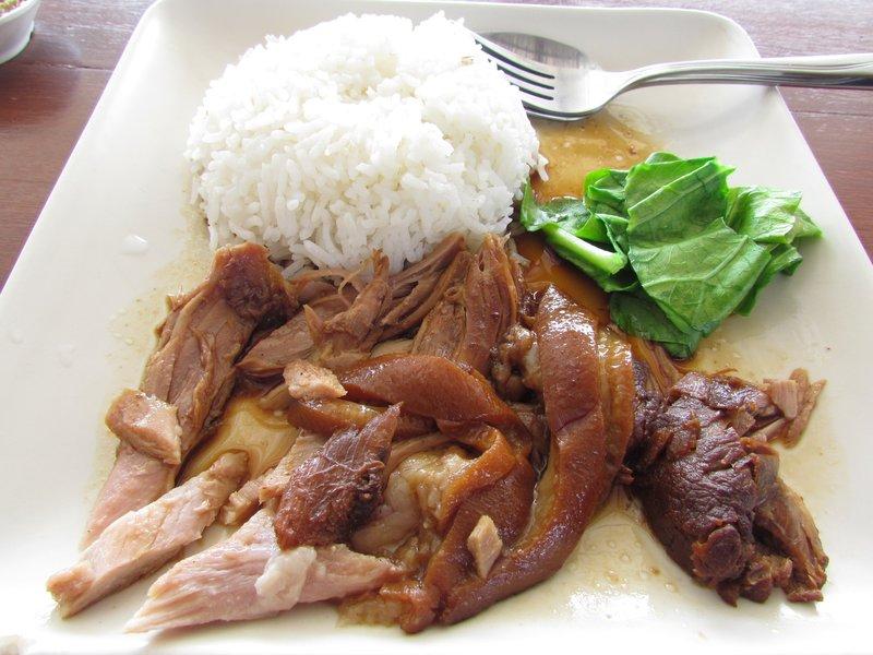 Pork leg