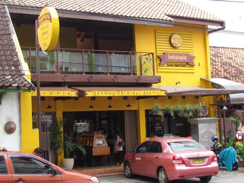 Bakpia shop opposite Whiz hotel