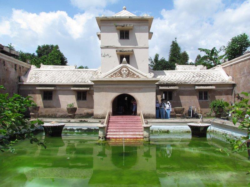 Bathing complex of Taman Sari