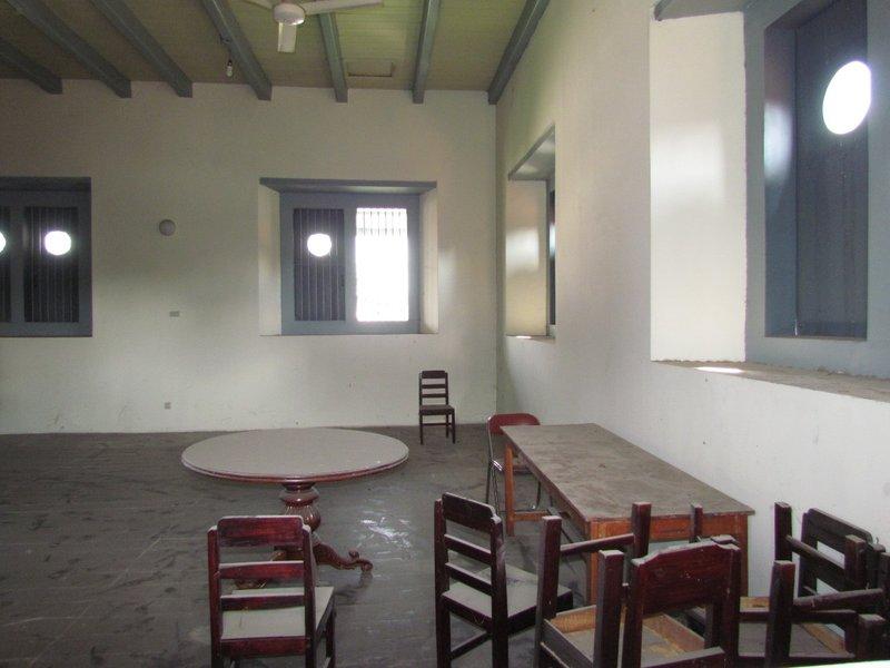 Inside fort Vredeburg building