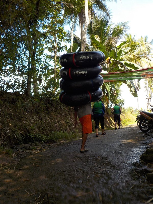 Tubing carrier