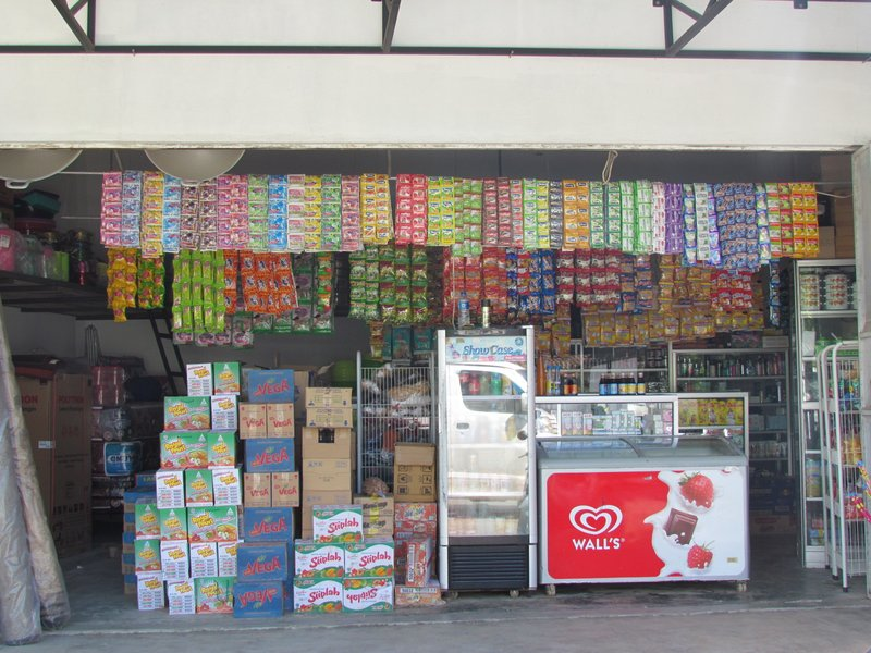 Typical Indonesian shop