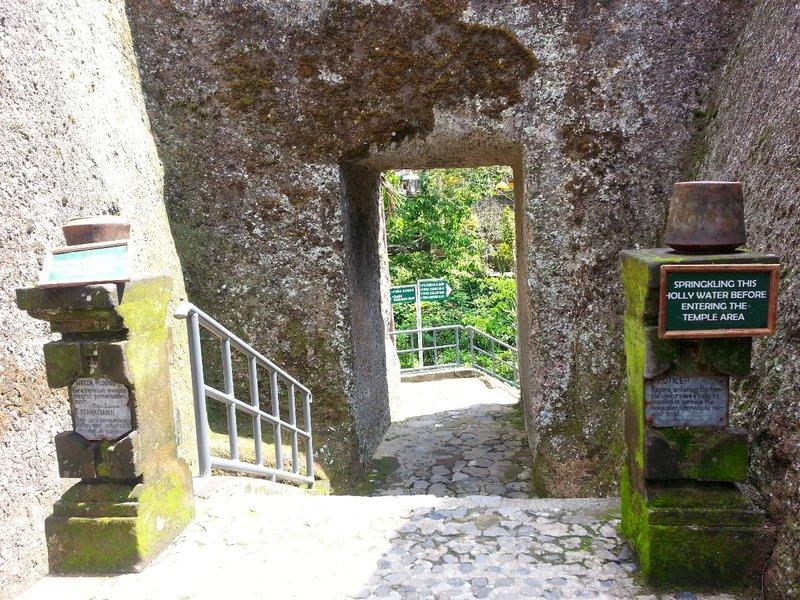 Entrance to Gunung Kawi