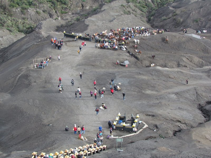 View from mount Bromo