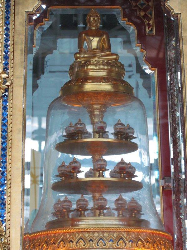 Reliquary urn of Buddha