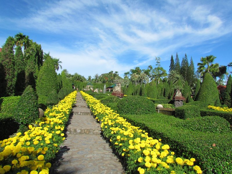 European garden