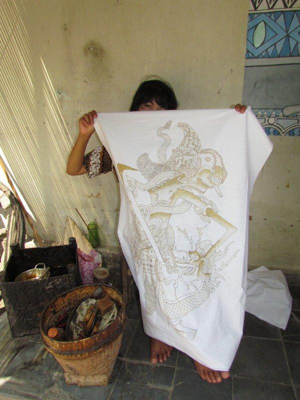 Batik drawer