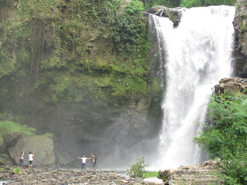 Tenganan waterfall