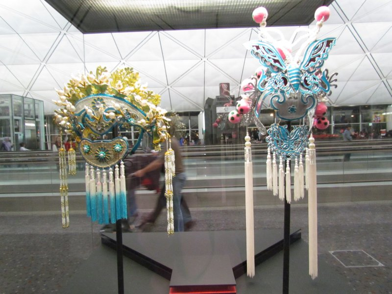 Chinese opera head dress