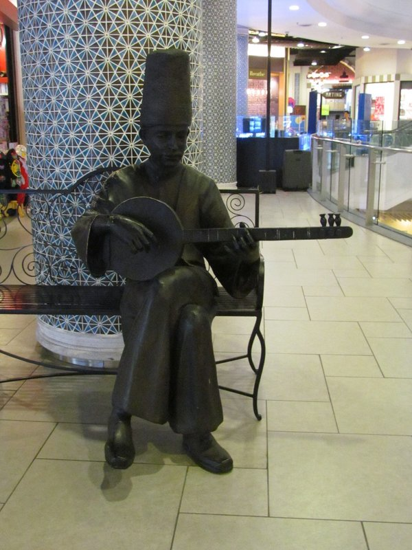 Turkish man playing ouds
