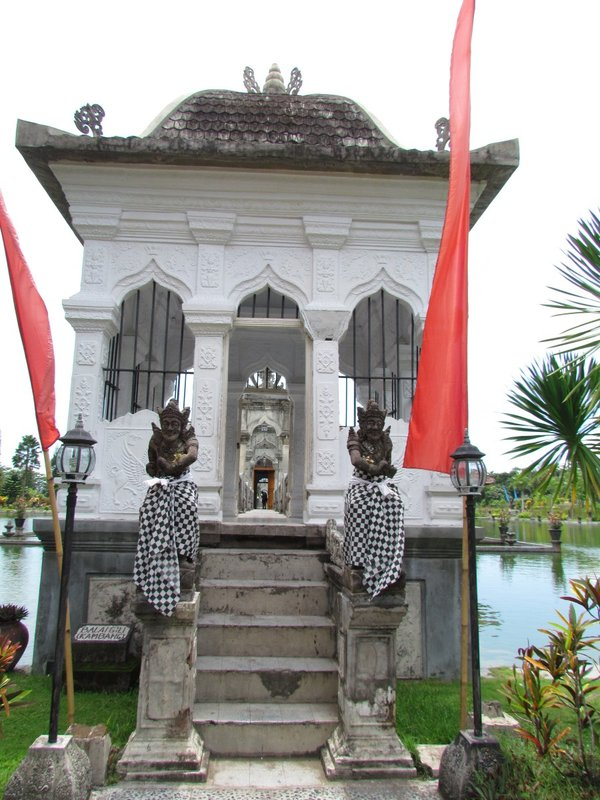 Entrance to Ujung Water Palace