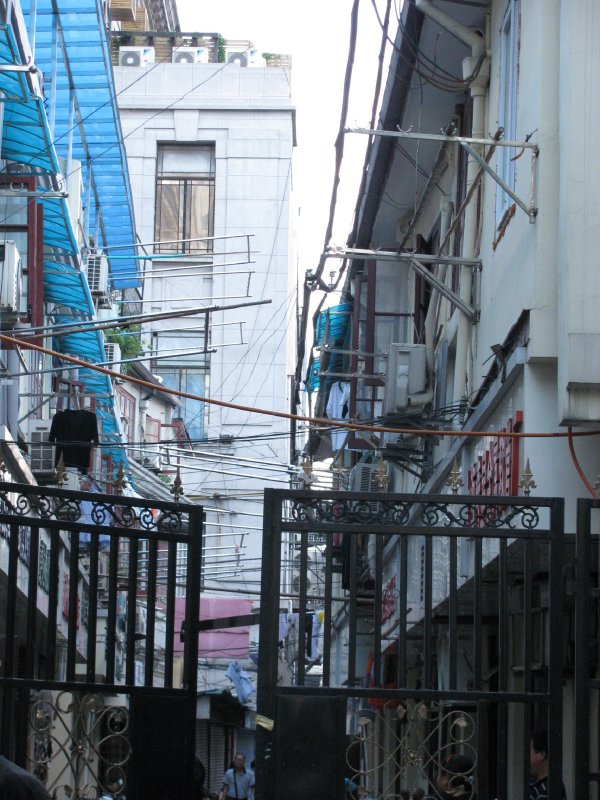 Alleyway in Shanghai