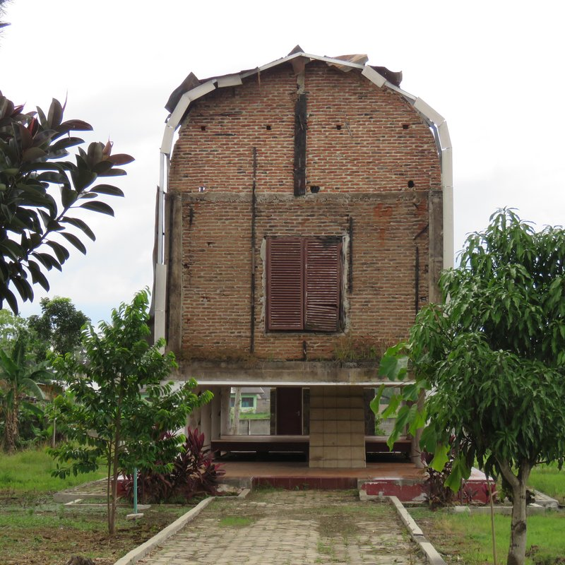 Burnt West Nusa Tenggara house