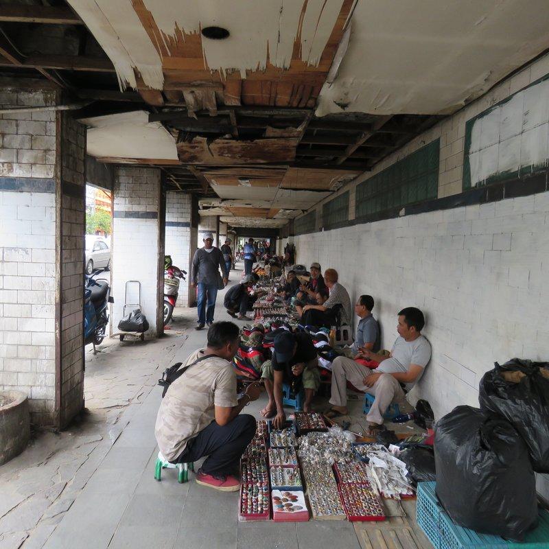 Walkway market