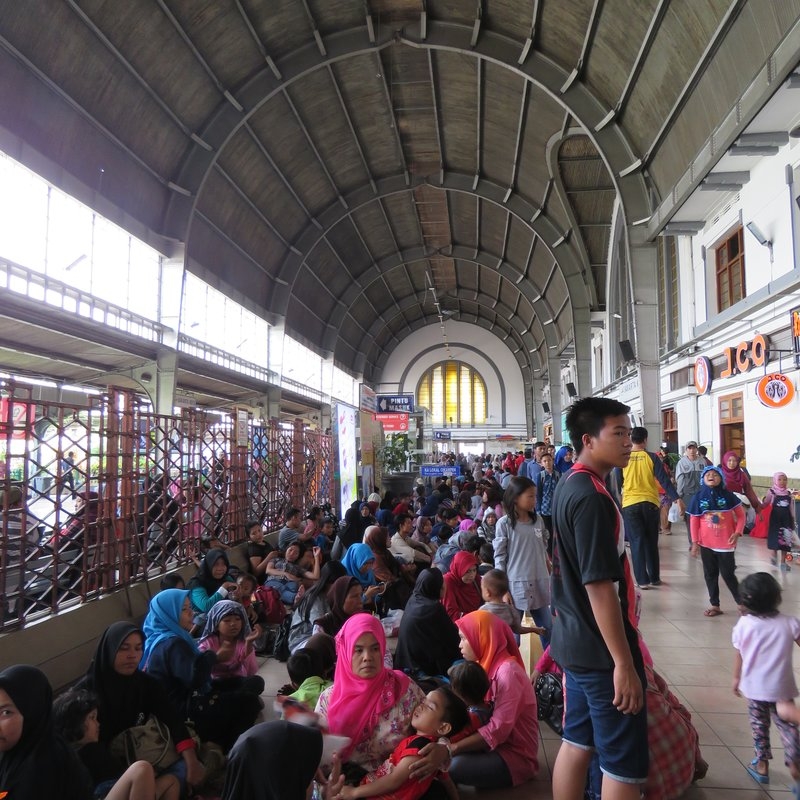Inside Jakartakota Station