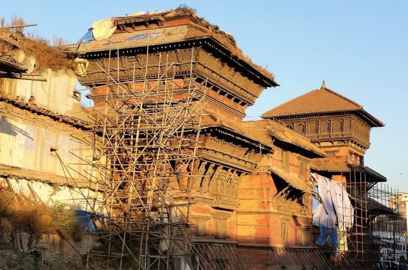 Restoration Activities : Durbar Square