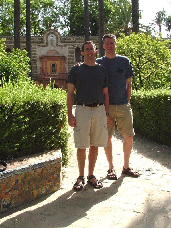 Bryn and Geoff in Sevilla