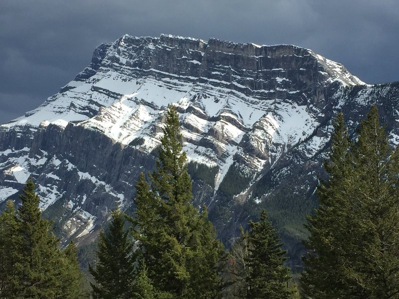 Mt. Robert Rundle, Banff NP