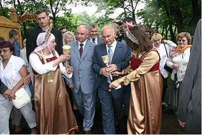 Bee-master Yury Luzhkov - Moscow