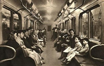 Moscow metro, 1956 - Moscow