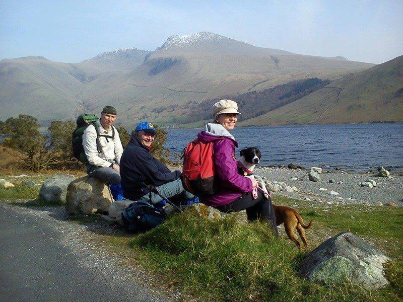 Sid, Rob & Jo - Day One, Wastwater