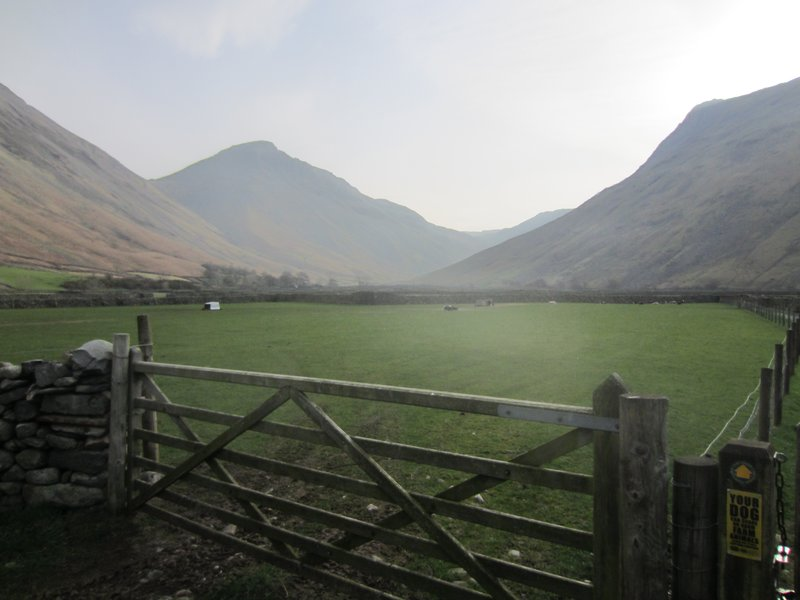 Wasdale Head - The Day dawns bright for day two
