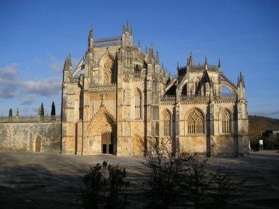 The front door - Batalha