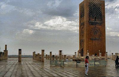 Hassan Tower - Rabat