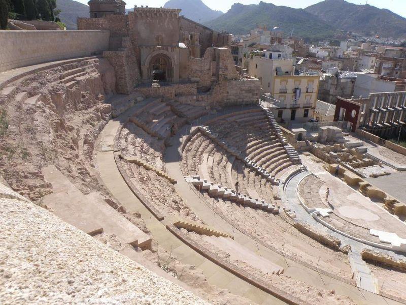 Roman theatre - Cartagena - Cartagena