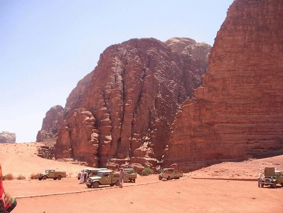 Water sometimes - Wadi Rum - Jordan - Jordan