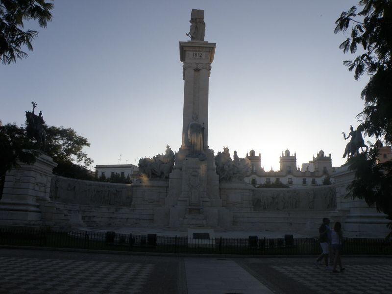 Plaza de España - Cadiz - Cadiz