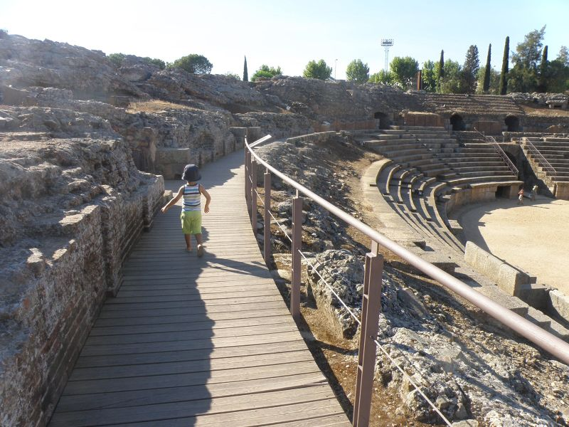 Roman amphitheater - Merida - Mérida