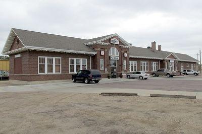 Depot, Mitchell, South Dakota, US 2015 - Mitchell