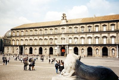 Palazzo Reale, Naples, Italy 2001 - Naples