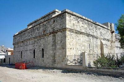 Lemesos Castle rear, Limassol, Cyprus 2010 - Limassol