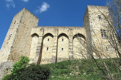 Castle Wall, Chevreuse, Chevreuse, France 2014 - Chevreuse